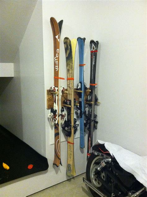 Diy Dowel Ski Rack