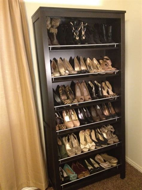 Diy Dowel Wood Shoe Shelving Units