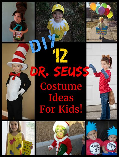 Diy Dr Seuss Character Ideas