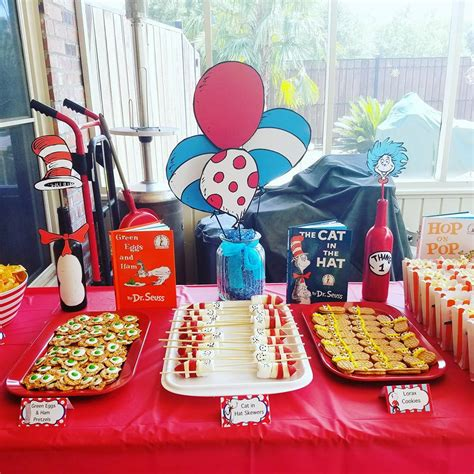 Diy Dr Seuss Party