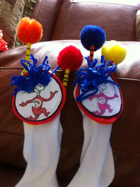 Diy Dr Seuss Socks