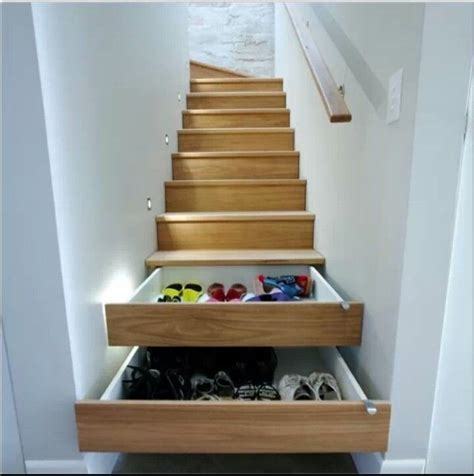 Diy Drawers Under Stairs