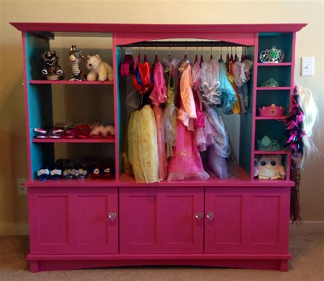 Diy Dress Up Closet Out Of A Dresser