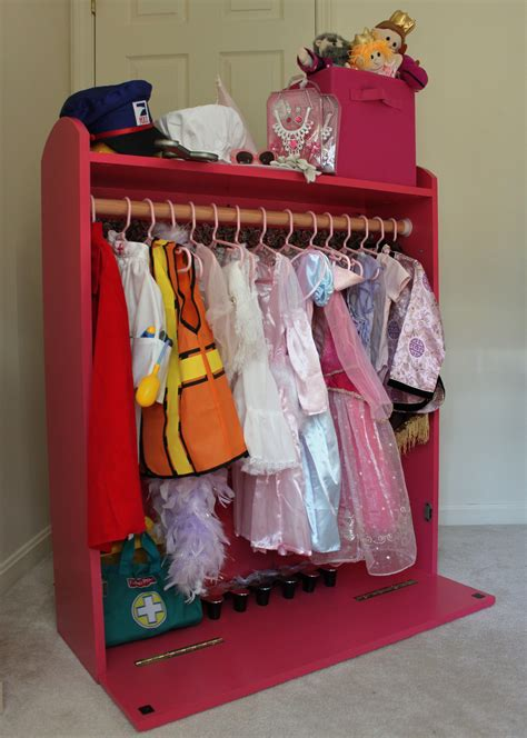 Diy Dress Up Clothes Storage