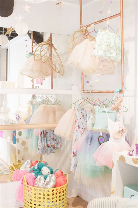 Diy Dress Up Rack And Mirror