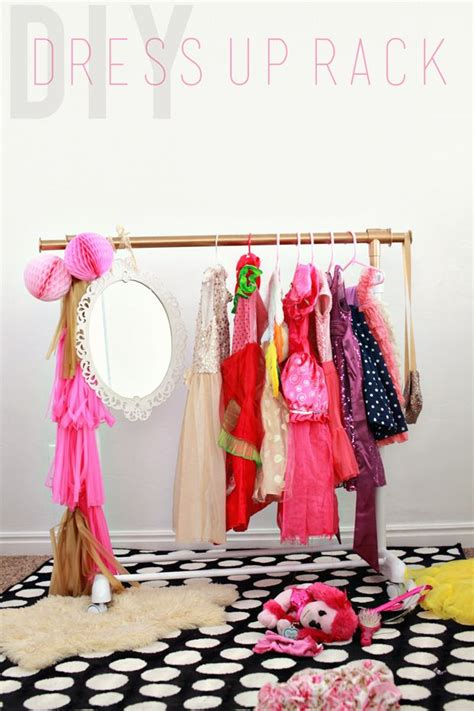 Diy Dress Up Rack For Party