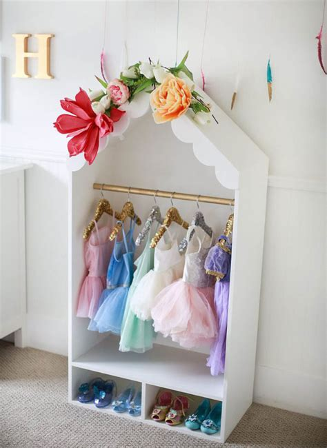 Diy Dress Up Storage For Girls