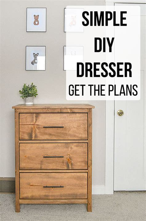 Diy Dresser Drawer Plans Images