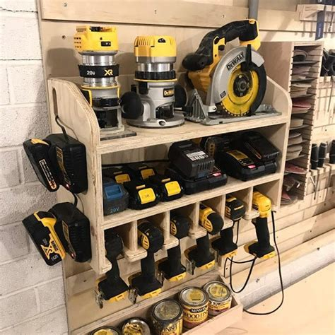 Diy Drill And Battery Holder