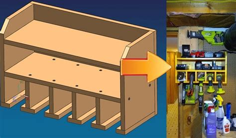 Diy Drill Holder Dimensions