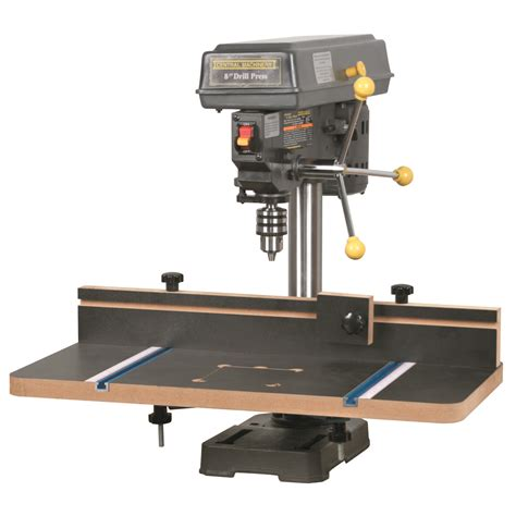 Diy Drill Press Extension Table With Fence