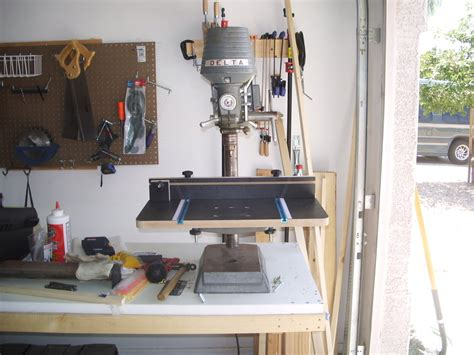 Diy Drill Press Stand Harbor Freight Forum