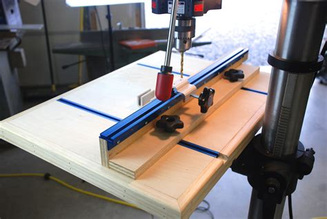 Diy Drill Press Table Designs