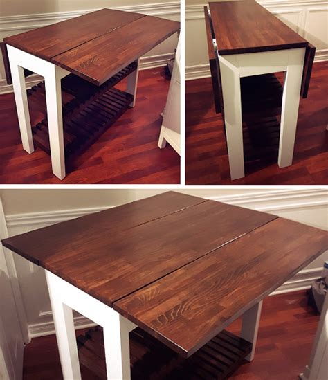 Diy Drop Leaf Kitchen Table