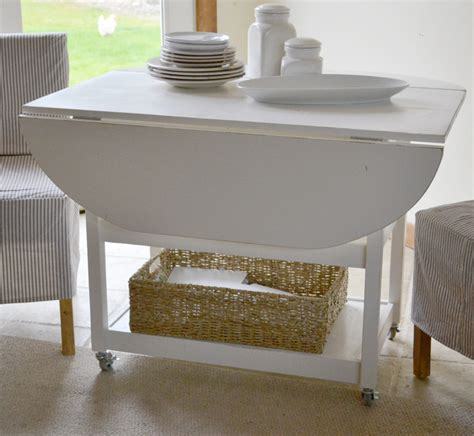 Diy Drop Leaf Table With Storage