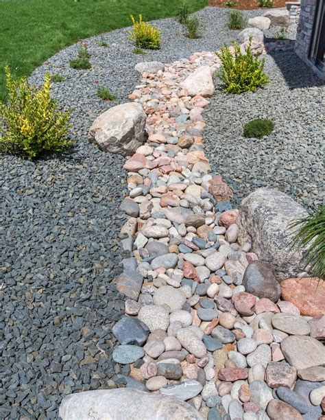 Diy Dry Creek Bed For Drainage