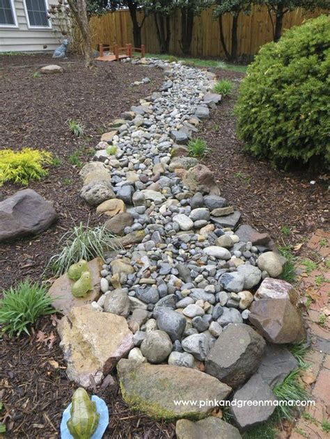 Diy Dry River Beds For Drainage