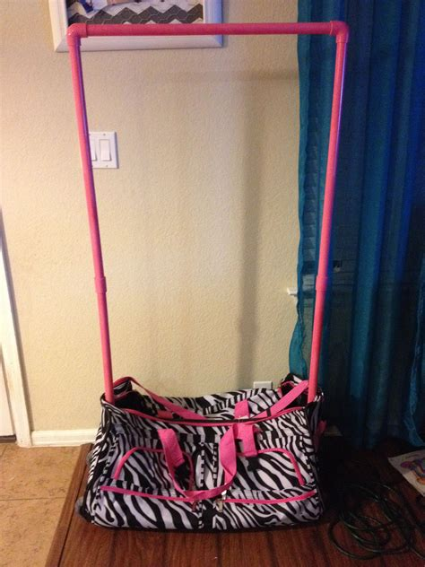 Diy Duffle Bag With Garment Rack