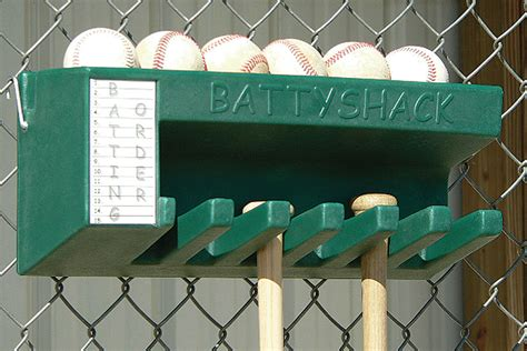 Diy Dugout Bat Rack