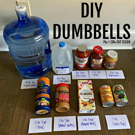 Diy Dumbbell