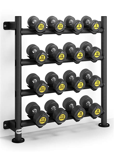 Diy Dumbbell Racks Storage Against The Wall
