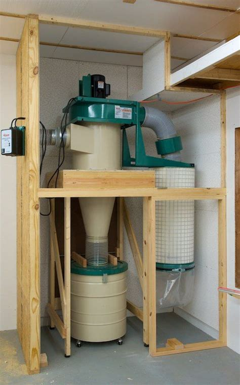 Diy Dust Collection Systems For Wood Shops Using Furnace Blower