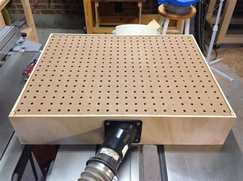 Diy Dust Collection Table