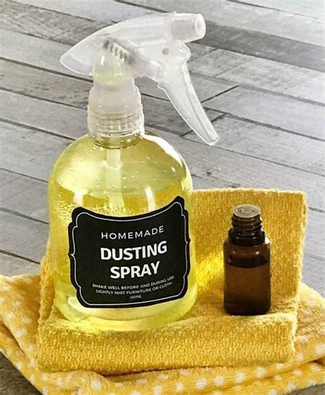 Diy Dusting Solution With Essential Oils