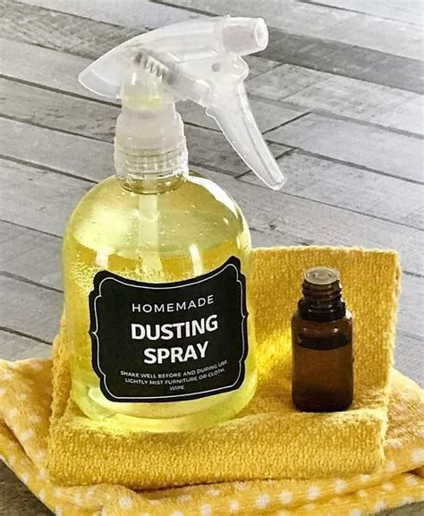 Diy Dusting Spray With Essential Oils