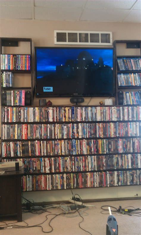 Diy Dvd Bluray Shelves