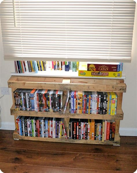 Diy Dvd Case Storage