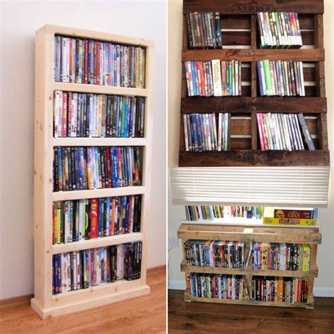Diy Dvd Cover Storage