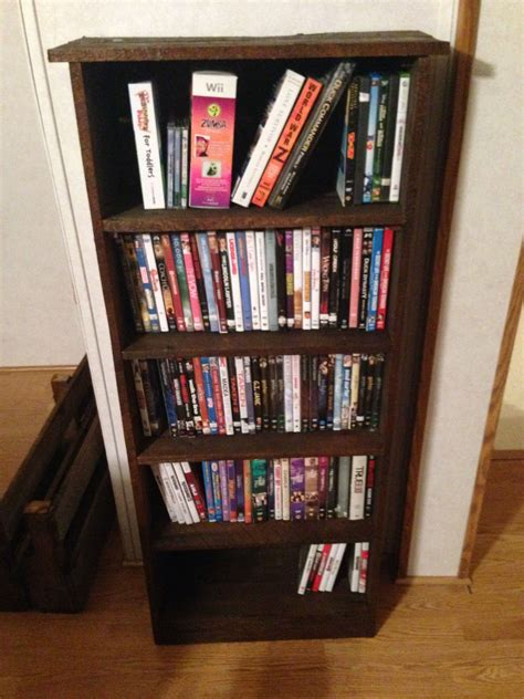 Diy Dvd Shelves From Pallets