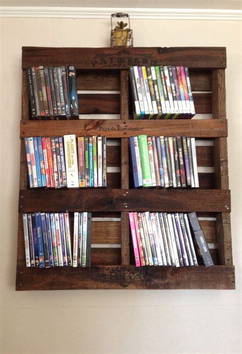 Diy Dvd Storage Shelves