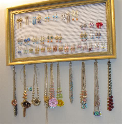 Diy Earring Holder Organizers