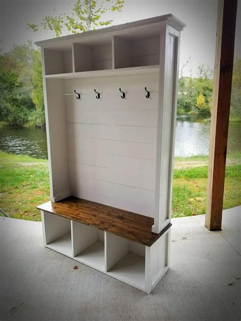 Diy Earring Storage Tree Bench