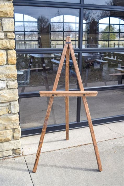 Diy Easel For Large Panels