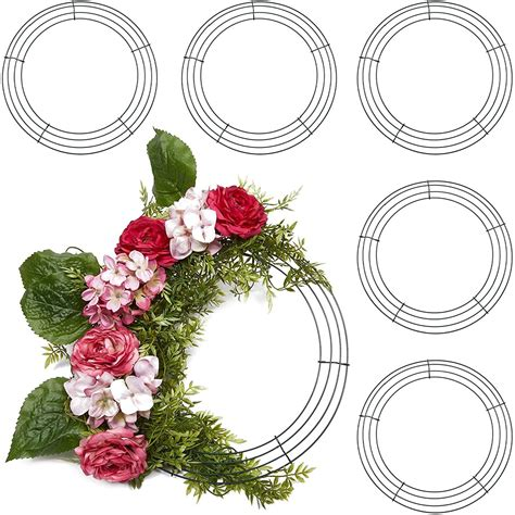 Diy Easter Wreath With Wire Wreath Frame