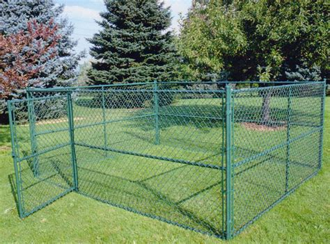 Diy Easy Chainlink Fence Kennel