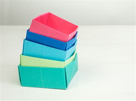 Diy Easy Origami Boxes