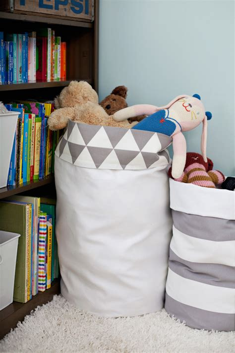 Diy Easy Reversible Fabric Storage Bin