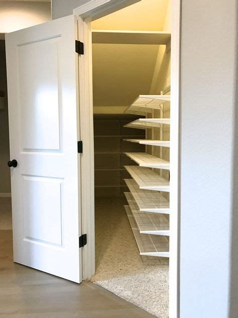 Diy Easy Storage For Closet Under The Stairs