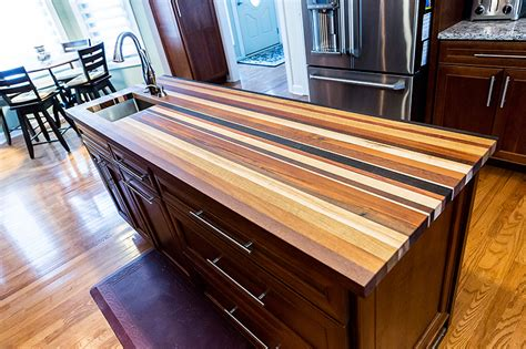 Diy Edge Grain Wood Countertops