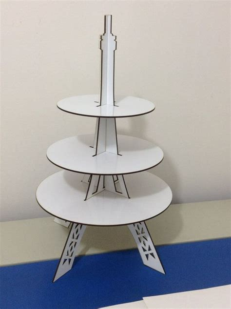 Diy Eiffel Tower Cupcake Stand Made Of Wood