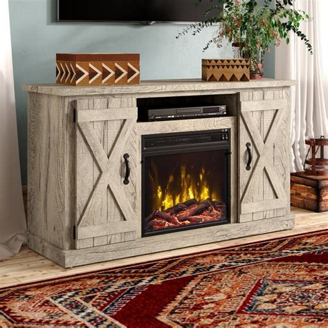 Diy Electric Fireplace Console