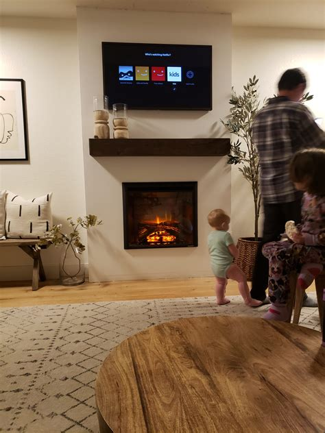 Diy Electric Fireplace Frame