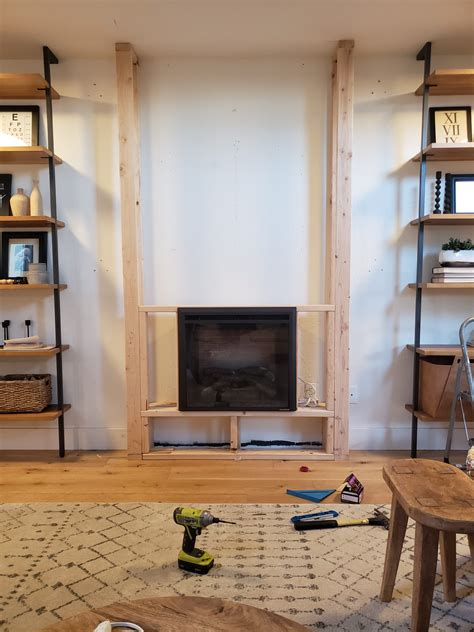 Diy Electric Fireplace Insert