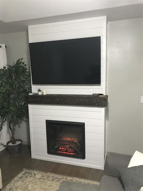 Diy Electric Fireplace Install