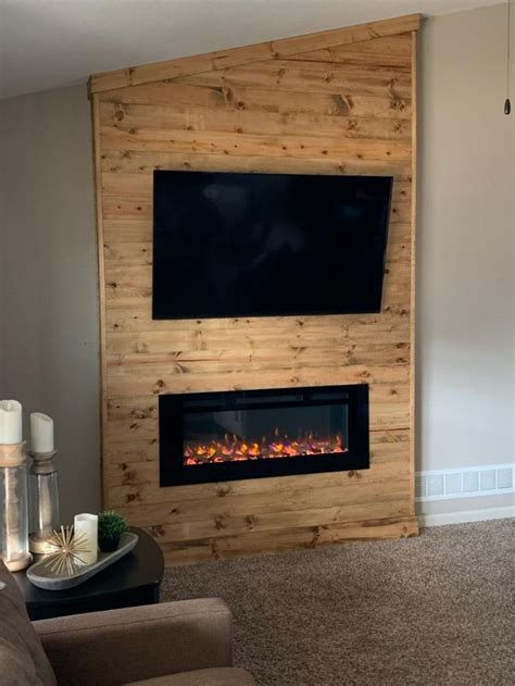 Diy Electric Fireplace Surround Kits