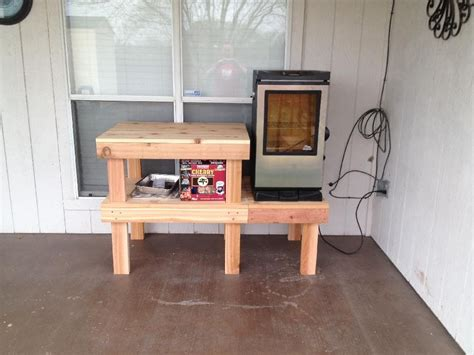 Diy Electric Smoker Table Plans